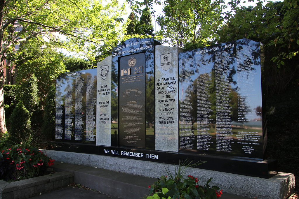 Windsor and Essex Korean Veterans War Memorial
