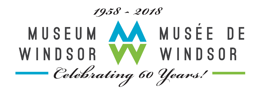 Special 60th Anniversary Logo for Museum Windsor