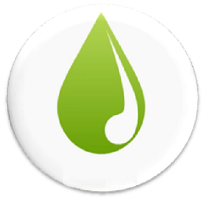 Improve our Water Quality logo of a water droplet