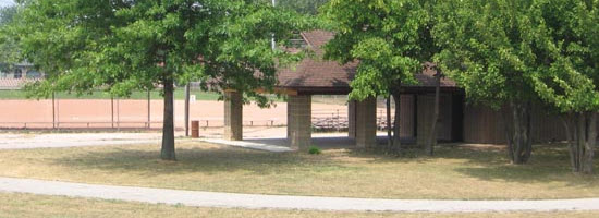 a view in Forest Glade Optimist Park