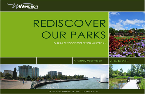Rediscover our Parks cover page
