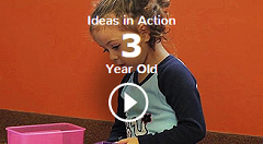 Thumbnail for Ideas in Action for 3 year olds video