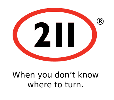 211 When you don't know where to turn logo